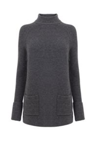 Warehouse Patch Pocket Tunic Jumper