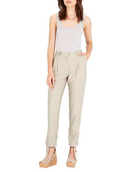 Warehouse Textured Peg Trouser
