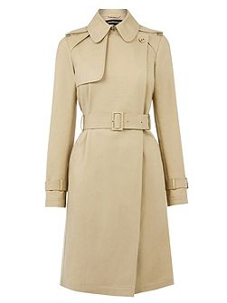 Clean Belted Trench