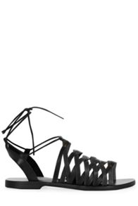 Warehouse Strappy Tie Sandal