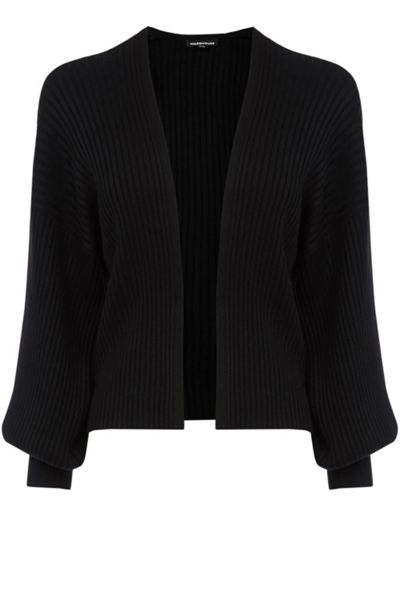 Warehouse Balloon Sleeve Cardi