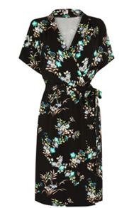 Warehouse Vintage Floral Wrap Dress