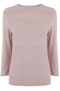 Warehouse Pretty Stitch Crew Jumper