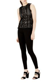 Warehouse Lace Patchwork Shell