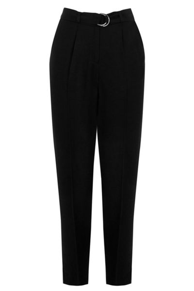 Warehouse Soft Belted Peg Trousers