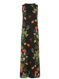 Palm Print Jungle Midi