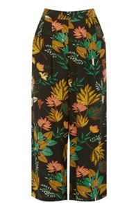 Warehouse Palm Print Culottes