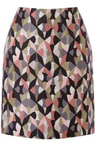 Warehouse Diamond Ikat Pelmet Skirt