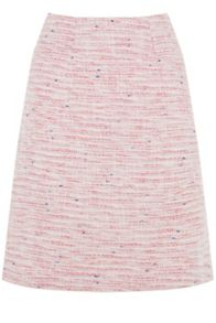 Warehouse Summer Tweed Pelmet Skirt