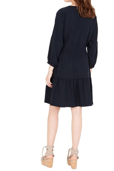 Warehouse Tiered Smock Dress