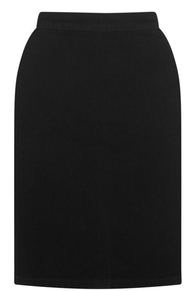 Warehouse Clean Denim Pelmet Skirt