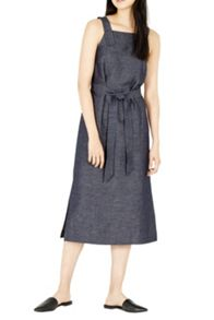 Warehouse Linen Mix Pinny