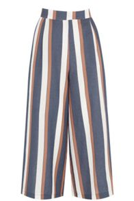 Warehouse Stripe Culotte