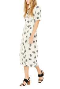 Warehouse Stencil Floral Dress