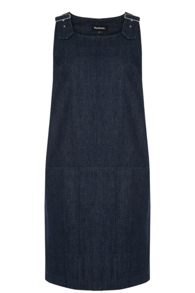 Warehouse Dungaree Dress