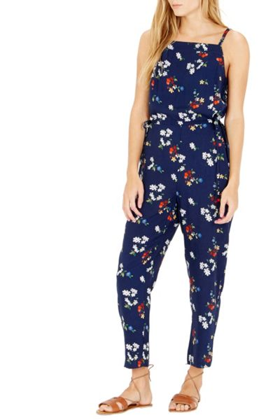 Warehouse Spaced Floral Jumpsuit