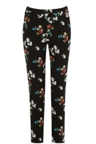 Warehouse Spaced Floral Slim Trousers