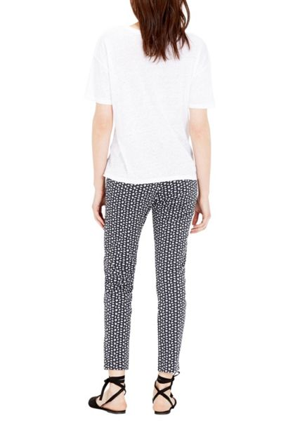 Warehouse Squiggle Print Trousers