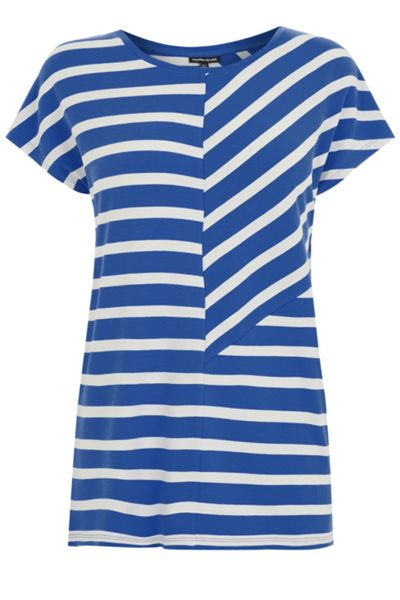 Warehouse Cutabout Stripe Top