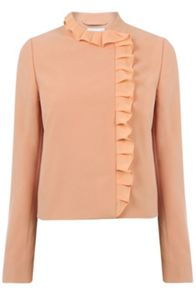 Warehouse Frill Collar Jacket