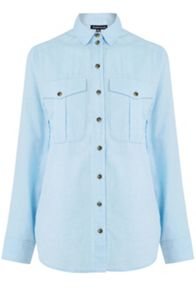 Warehouse Relaxed Pocket Detail Shirt
