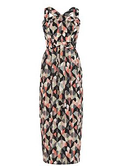 Diamond Ikat Dress