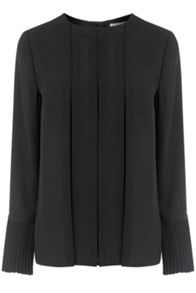 Warehouse Box Pleat Top