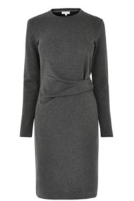 Warehouse Side Rouche Detail Dress