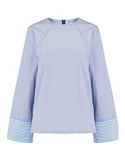 Stripe Long Sleeve Top