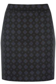 Warehouse Tile Jacquard Skirt