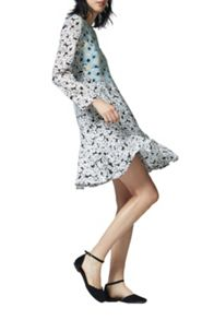 Warehouse Daisy Flippy Dress