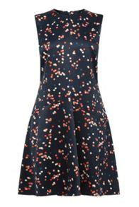 Warehouse Confetti Spot Dress