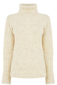 Warehouse Nep Roll Neck Jumper