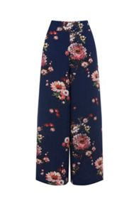 Warehouse Painted Floral Culotte