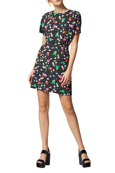 Warehouse Geo Party Print Dress
