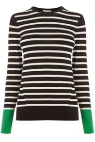 Warehouse Block Stripe Jumper