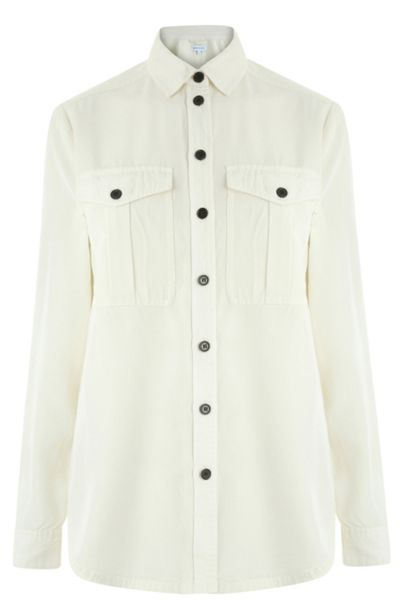 Warehouse Casual Utility Blouse