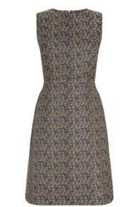 Warehouse Daisy Jacquard Dress