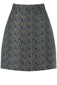 Warehouse Daisy Jacquard Pelmet Skirt