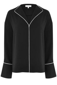 Warehouse Piped Detail Top