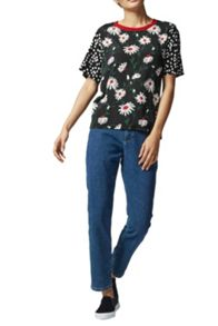 Warehouse Pop Daisy Spot Mix Tee