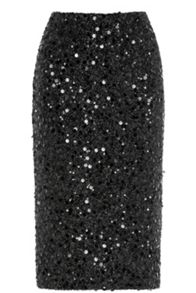 Warehouse Sequin Skirt
