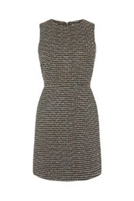 Warehouse Sparkle Tweed Dress