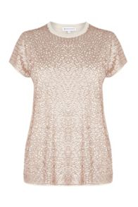 Warehouse Sequin Front Jumper