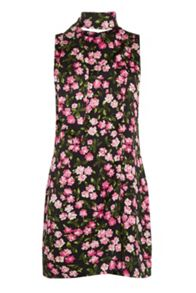 Warehouse Cherry Blossom Scarf Dress