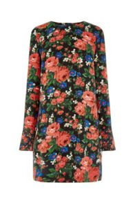 Warehouse Lupita Rose Shift Dress