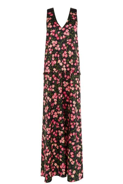 Warehouse Cherry Blossom Maxi Dress