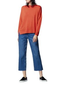 Warehouse Displaced Boxy Hem Jumper