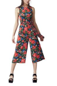 Warehouse Lupita Rose Jumpsuit