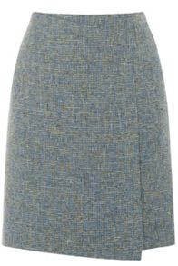 Warehouse Tweed Pelmet Skirt